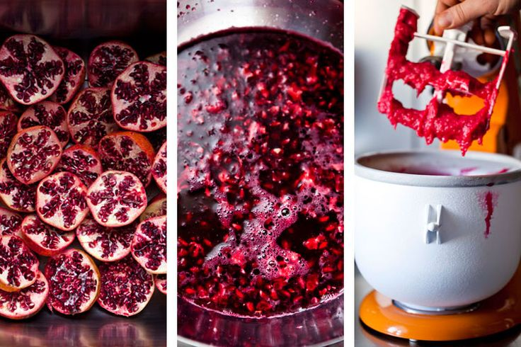 pomegranate sorbet | Sorbets, Ice creams and New Cold Desert Ideas ...