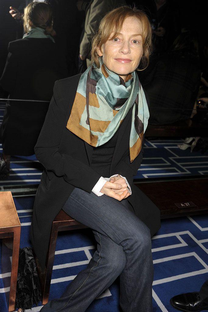 Isabelle Huppert At Balenciaga S09 Rtw Isabelle Huppert