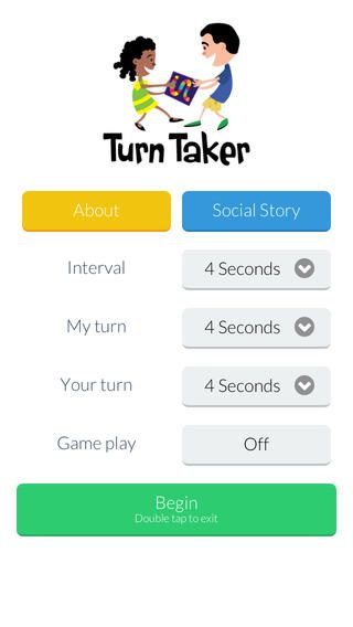 Turn Taker uses visual and audio cues to facilitate turn taking and sharing for…