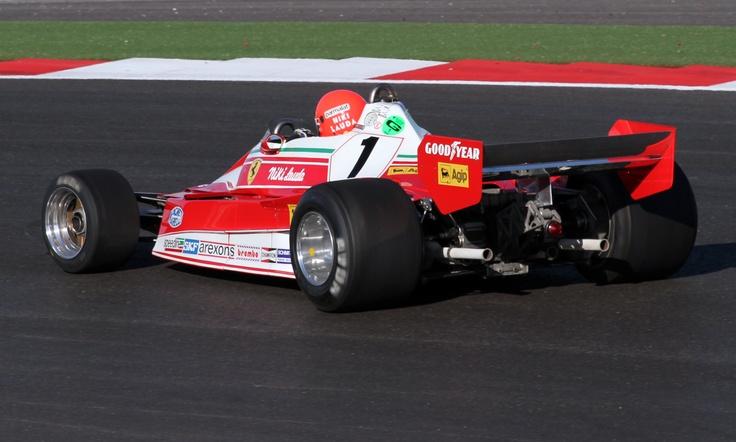 Niki Lauda March 312 T2 1976 (Austin 2012) © Peter Linder