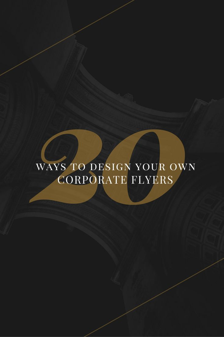 20 Corporate Flyer Designs to Hype Up Your Business  with Free Templates. 12 best CID Project images on Pinterest   A logo  Business