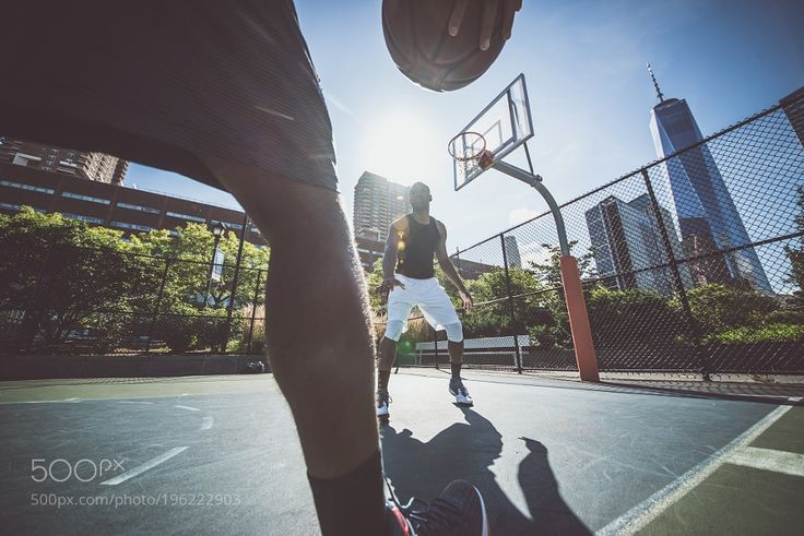 #Sport http://ift.tt/2jLxmCc #Photos Two street basketball players playing hard on the court by kato84
