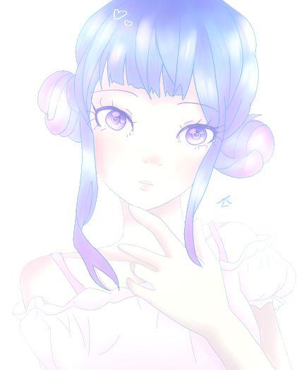 Pretty Blue by Mizu-witch