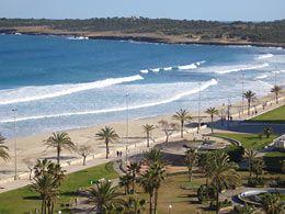 Cala Millor, Mallorca - with an almost endless beach