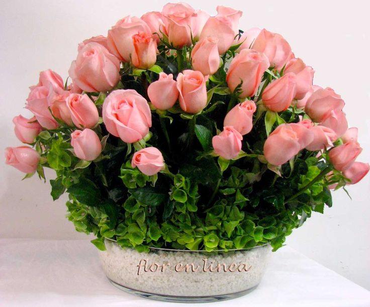 rosas para mama   postre de rosas combinacion de rosas con piedra de marmol