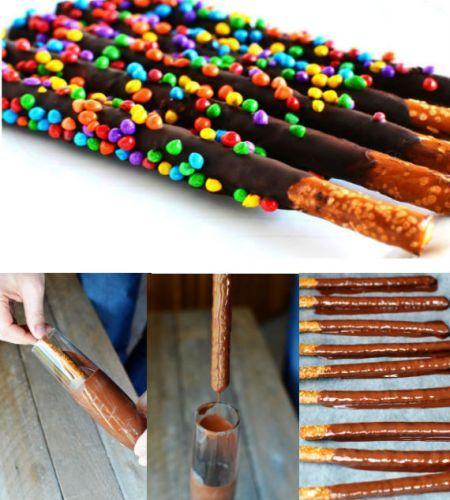 Chocolate Pretzel