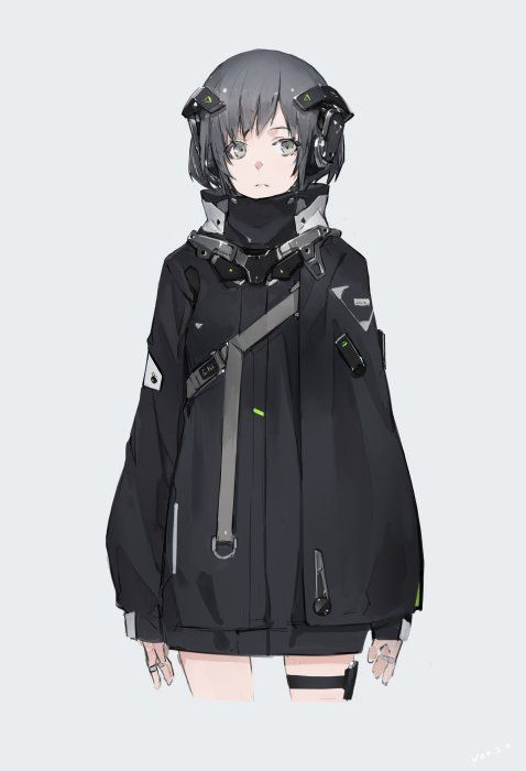 Anime Characters Jacket : Best cool anime girl ideas on pinterest manga