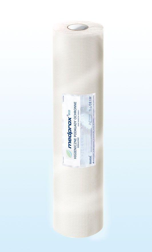 Prześcieradło jednorazowe MEDPROX eco 50 cm, kolor biały