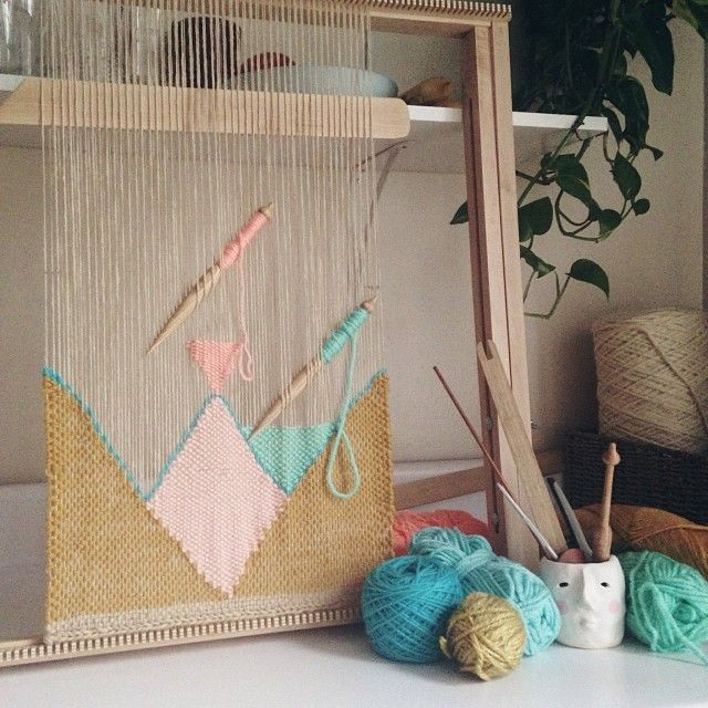 .@Maryanne Moodie | Good morning! Today in the studio I'm working with pastel triangles. Mmmmmmm. | Webstagram