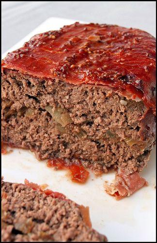 Meatloaf aux oignons caramélisés et prosciutto (pain de viande) | Chez Becky et Liz, blog de cuisine anglaise