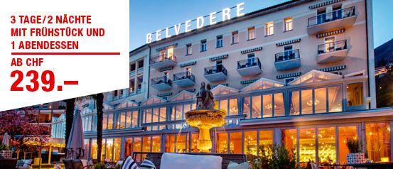 SBB: Hotel Belvedere****S, Locarno.