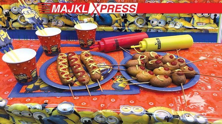 Majkl Express: Best recipe for homemade Corn Dogs