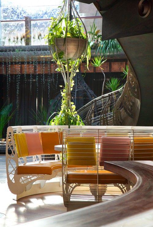 Cloudland, Brisbane Australia: A Modern Green Nightclub Garden