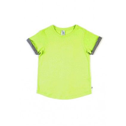 Roll Sleeve Tee - Citrus
