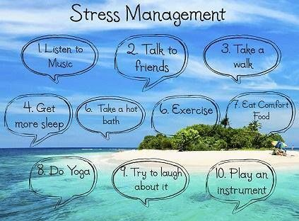 10 Easy Ideas for Stress Management.  www.livingwellwithmontel.com