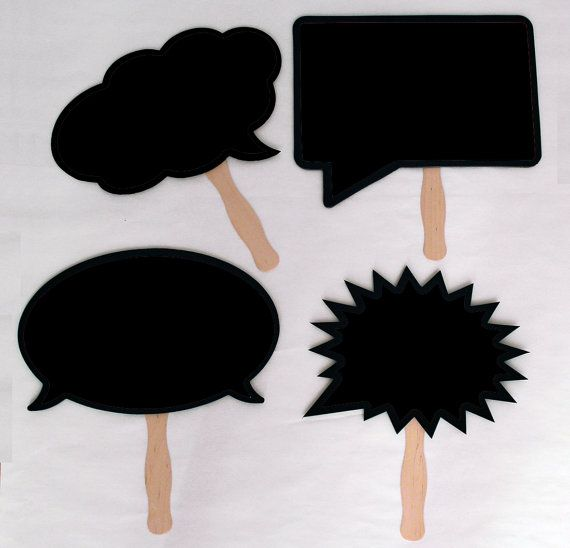 Chalk Board with Handles. Waterproof and Durable. For Photo booth and Photo Props.