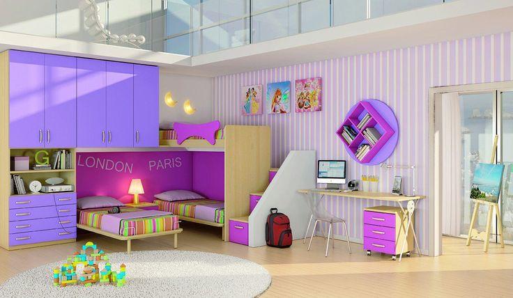 42 ideias de decorações criativas e estilosas para quartos de crianças   Estilo