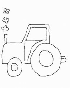 29 best Gritty Tractor Coloring Pages images on Pinterest