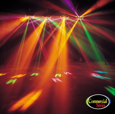 light heads package head dj led spot packages two powered moving with lights high american motorized focus