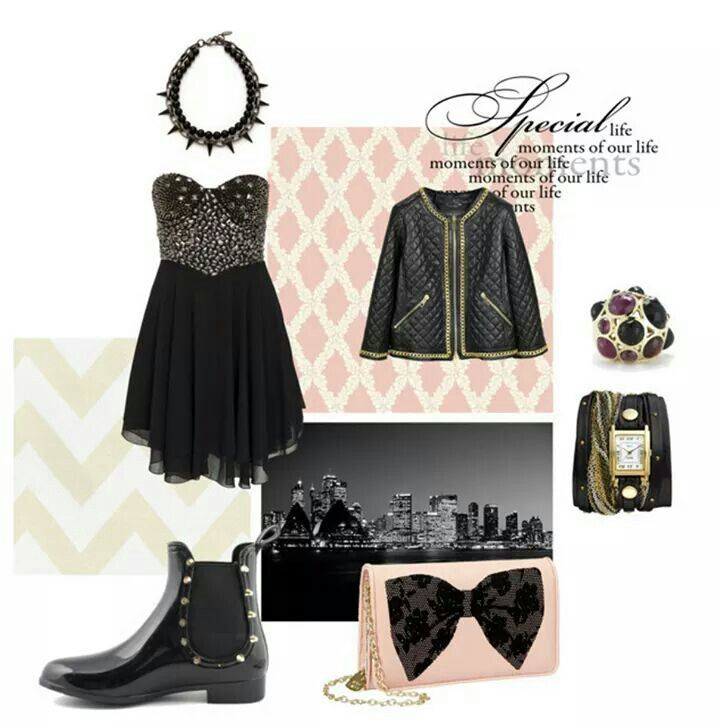 style punk and casual