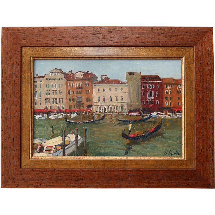 Гранд канал. Венеция /в раме 30х40 см, х.м.