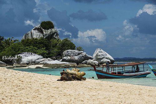 Pantai Pulau lengkuas, Belitung