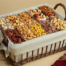 Snack Attack gift basket with Birthday Cake Cookie. Another gift idea for the guy that has everything in your life.