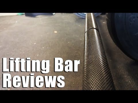 (1) Comparing Bars for Powerlifting, Olympic Lifting, more! - YouTube