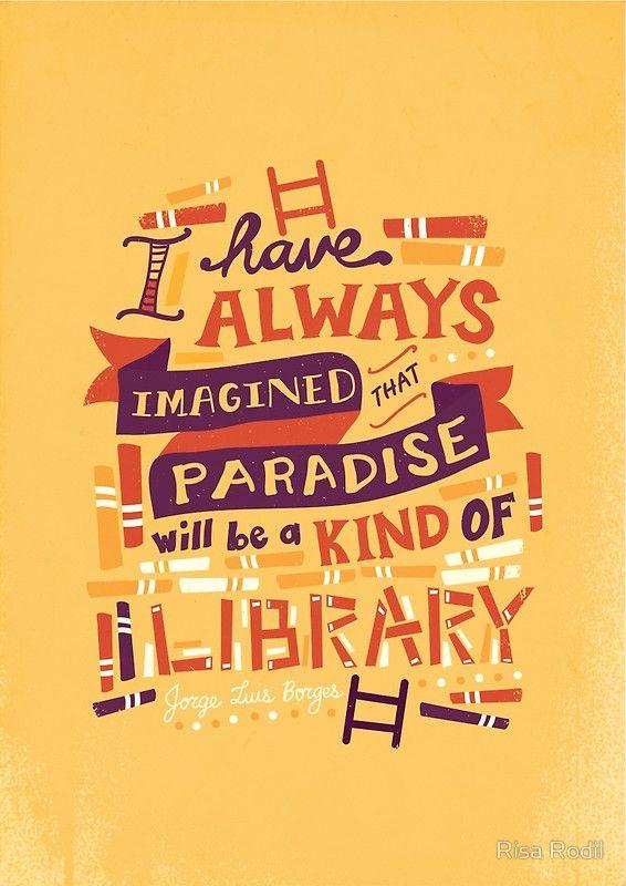 """Library"" Kunstdruck von Risa Rodil | Redbubble"