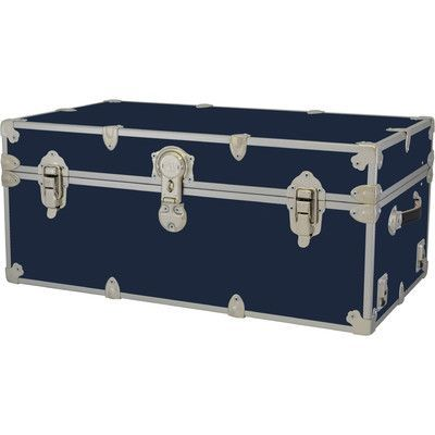 rhino trunk and case large armor trunk color navy blue tray hardwood tray