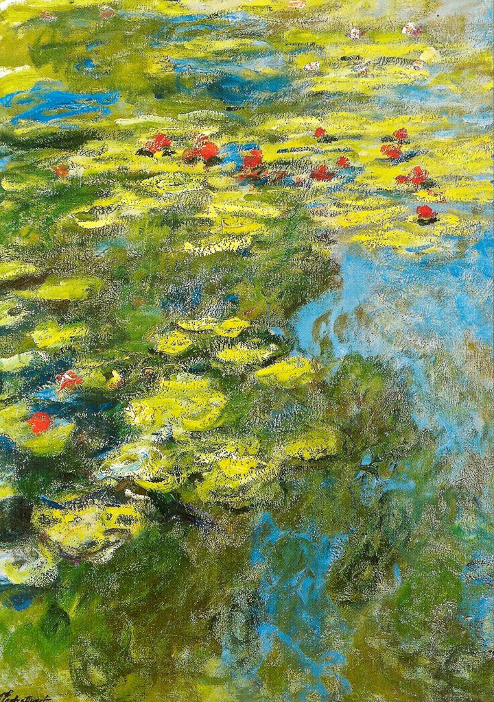 Claude Monet - Water Lilies Nymphets, 1919 at Musée Marmottan Monet Paris France