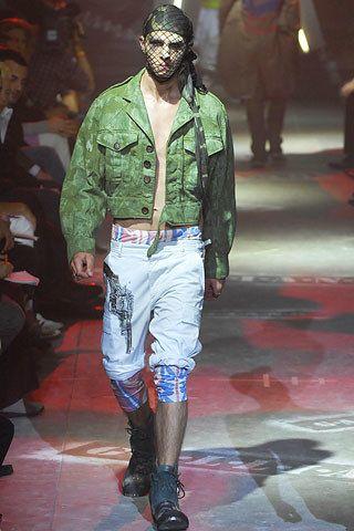John Galliano Spring 2008 Menswear Fashion Show