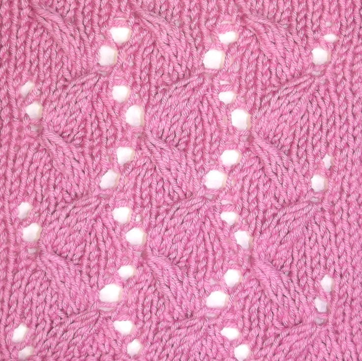 Folding Ribbons looks complex, but is easily accomplished with the use of twisted stitches.  It can be found in the Cables & Twisted Stitches category.