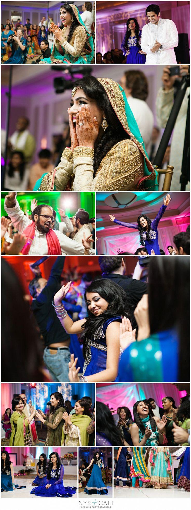 Nyk + Cali, Wedding Photographers | Nashville, TN | South Asian Wedding Photography | Pakistani | Mehndi | Celebration | Downtown Hilton Hotel | Hindu Ceremony | Creative | Dancing