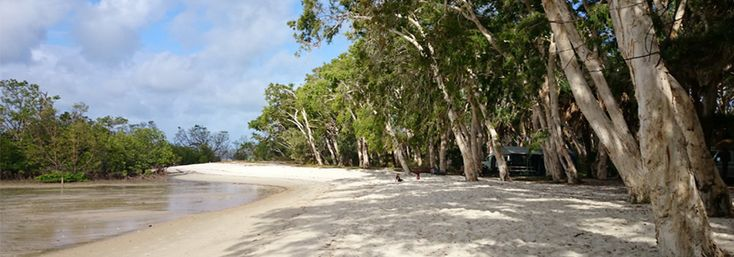 Travel NQ travel writer Amanda Cranston travels beyond Cooktown to discover the stunning campground and coloured sands of Elim Beach near Hope Vale