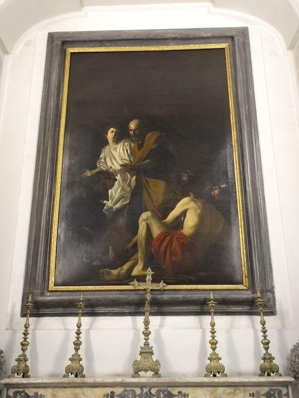 Liberazione di San Pietro dal carcere - Battistello. Pio Monte della Misericordia