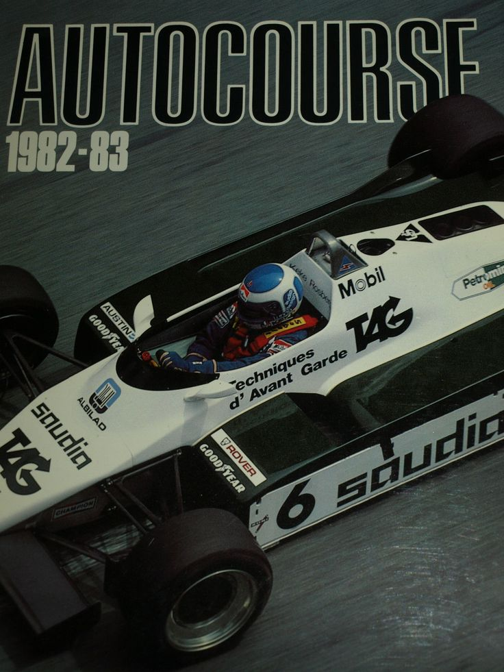 AUTOCOURSE 1982 - 83 ALAN JONES GILLES VILLENEUVE NELSON PIQUET KEKE ROSBERG F1 | eBay