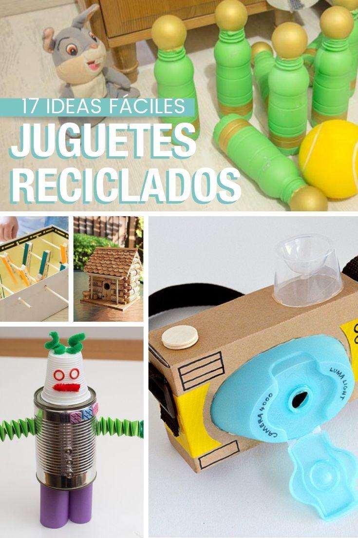 Cómo hacer juguetes con materiales reciclados | Juguetes con