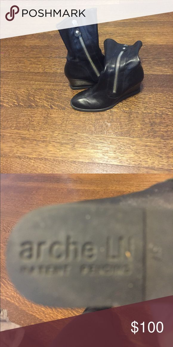 Arche boots  so 37 like new Size 37 nearly perfect buttery leather boots Arche Shoes Ankle Boots & Booties