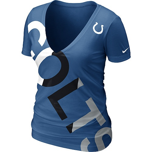 Keeping my eye on this one...Nike Indianapolis Colts Women's Off-Kilter Tri-blend T-Shirt - NFLShop.com