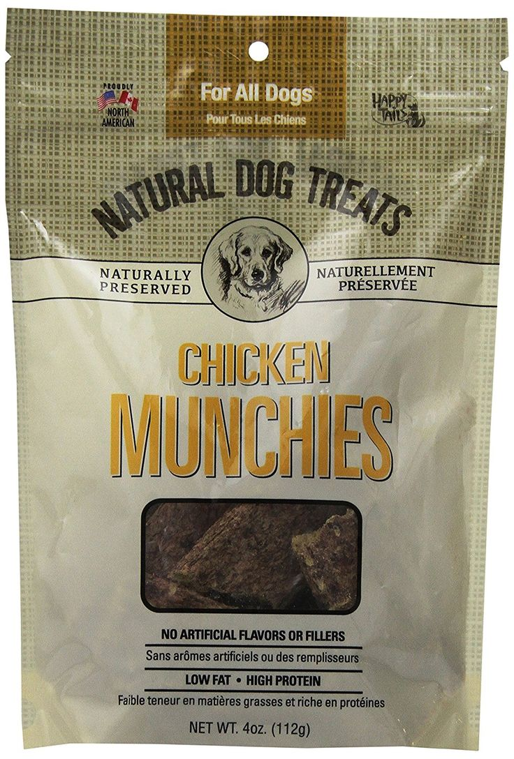 Happy Tails All Natural Chicken Munchies, 4Ounce