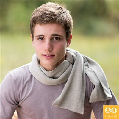 This simple, elegant, and eco-friendly Unisex Organic Hemp Knit Scarf is made from a special blend of organic European cannabis hemp and organic flax linen. Breathable, soft, cozy, and comes in several different colors and patterns (all naturally dyed).