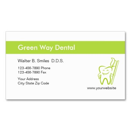 270 best Dentist Business Cards images on Pinterest