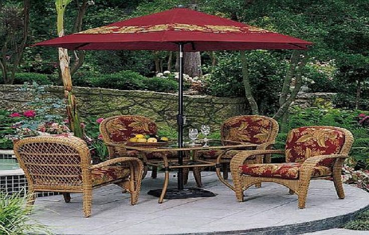 12 best patio furniture sets images on pinterest for Wicker patio furniture sets clearance