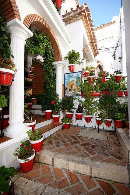 Courtyard, Andalusia, Spain  photo via besttravelphotos
