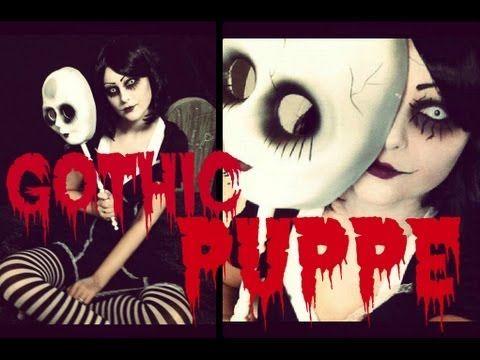 Halloween Gothic Puppe - Hair & Make up