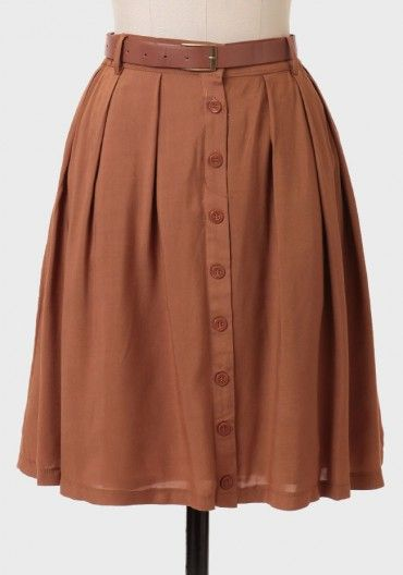Perfect fall skirt! some patterned tights, booties, warm cardi good to go!