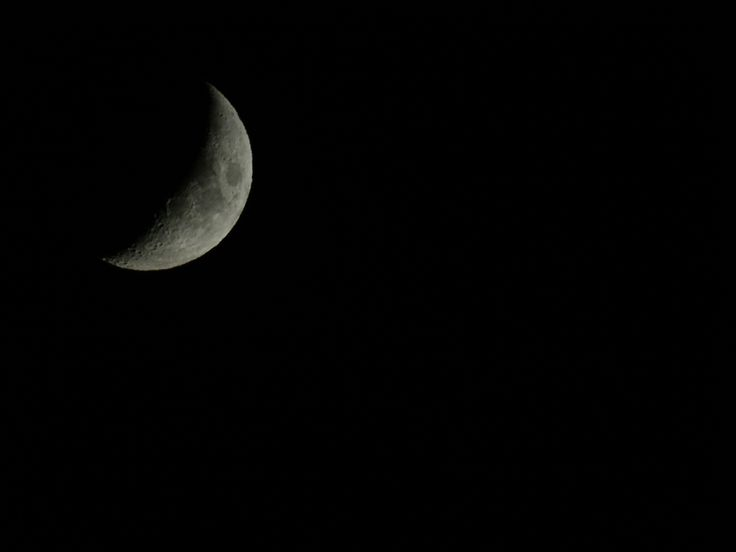 Took this photo of the moon in Greece (Sony HX400V)