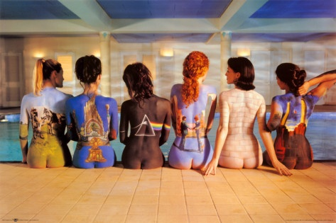 "The Pink Floyd ""Back Catalogue"". Without showing bias towards one of my favourite bands, a great conceptual piece of art...art imitating life, perhaps?"