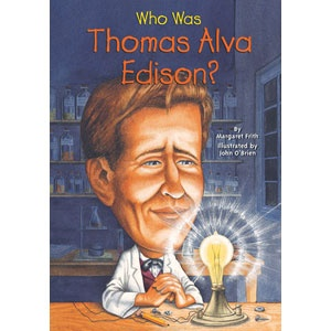 Who Was Thomas Alva Edison?    One day in 1882, Thomas Edison flipped a switch that lit up lower Manhattan with incandescent light and changed the way people live ever after. The electric light bulb was only one of thousands of Edison's inventions, which include the phonograph and the kinetoscope, an early precursor to the movie camera. As a boy, observing a robin catch a worm and then take flight, he fed a playmate a mixture of worms and water to see if she could fly!